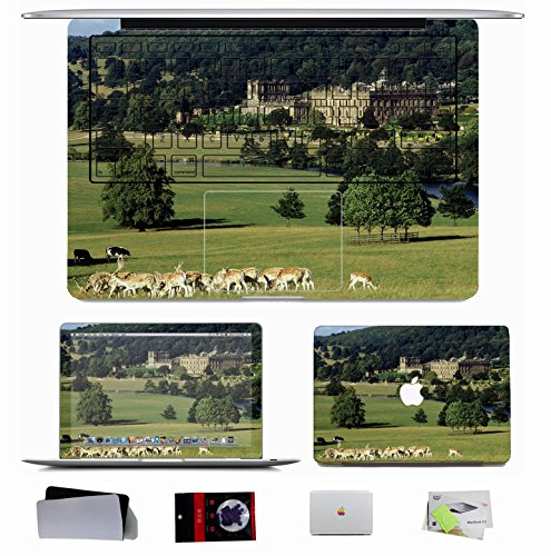 10 PCS Macbook Pro/Air 11 13 15 Inch Skin Decal - City Chatsworth Castle England
