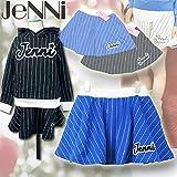 SISTER JENNI(ジェニィ) ピンストライプ_裏毛スカッツ[パンツ付きスカート] (130-160) 71859/ブルー50 (140cm)