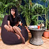 Comfy Bean Bags XL Bean Bag without Beans  Wine  available at Amazon for Rs.349