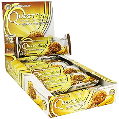 Quest Protein Bars Banana Nut Muffin 14 Bars