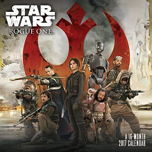 "Trends International 2017 Wall Calendar, September 2016 - December 2017, 11.5"""" x 11.5"""", Star Wars: Rogue One"