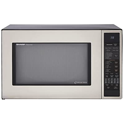 Sharp R-930CS 1-1/2-Cubic Feet 900-Watt Convection Microwave Via Amazon