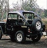 サン自動車工業 三菱ジープJ50用 サントップ/黒/純正ロールバー装着車用 MJ50