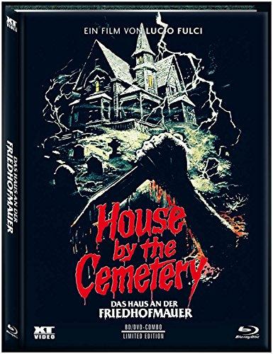 Haus an der Friedhofmauer (DVD+Blu-Ray) uncut streng limitiertes Mediabook Cover C