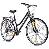 "28"" Zoll LUXUS ALU CITY BIKE TREKKINGRAD DAMENFAHRRAD CHRISSON INTOURI"