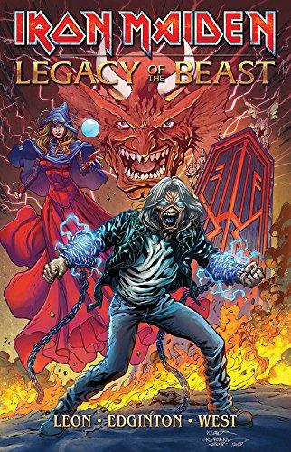 Iron Maiden Legacy of the Beast Volume 1 [Leon, Llexi - Edington, Ian] (Tapa Blanda)
