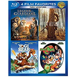 4 Film Favorites: Family Adventures [Blu-ray]