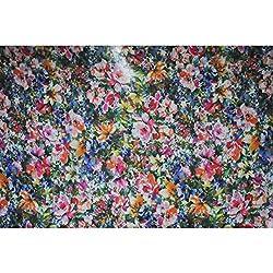 Triveni GEORGETTE Fabrics (TSFD002_OFF WHITE)