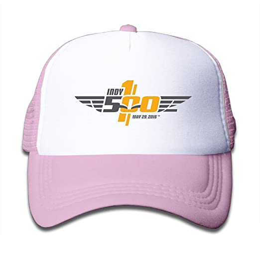 XHAPPY PILLOW 2016 Indy 500 Rookie Alexander Rossi Youth Mesh Snapback Hat