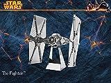3D Laser Cut Building Metal Model Kit Metallic Nano Puzzle Educational DIY Assembling Toy-Star Wars Set of 4-TIE Fighter