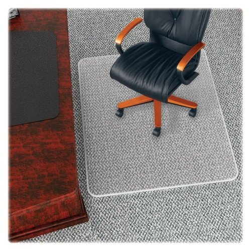 deflect-o-beveled-edge-chair-mat-53-length-x-45-width-x-033-thickness-overall-vinyl-clear-by-deflect