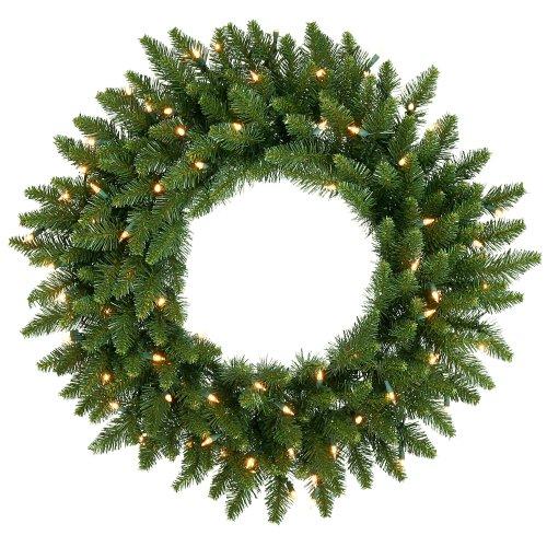 30 pre lit camdon fir christmas wreath clear lights outdoor. Black Bedroom Furniture Sets. Home Design Ideas
