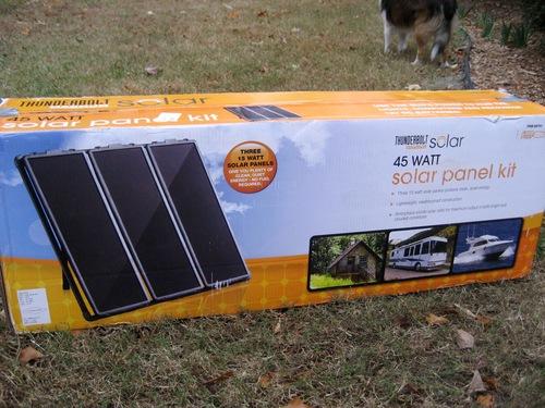 Amazon Thunderbolt Solar Panel Kit 45 Watt Patio