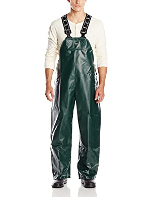 Helly Hansen Workwear Nusfjord Fishing Bib Pant, Dark Green, M (Color: Dark Green, Tamaño: Medium)