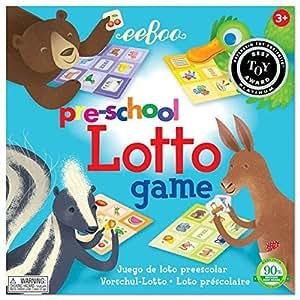 eeBoo Pre school Lotto Game