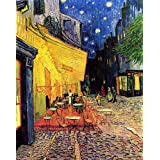 Art Emporio 'The Cafe Terrace On The Place Du Forum, Arles, At Night By Van Gogh' Poster (Canvas Print, 60.96...