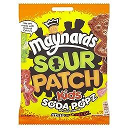 Maynards Sour Patch Kids Soda Popz 160g