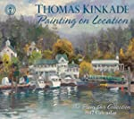 Thomas Kinkade Painting on Location 2...