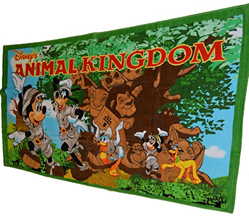 Authentic Disney Parks Animal Kingdom Lion King Beach Towel (Lion King Gift Basket compare prices)