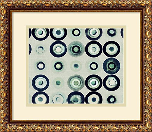 Washed Circles I By Amy Lighthall Framed front-728410