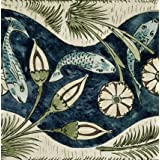 Fishes and lilies, by William De Morgan (V&A Custom Print)