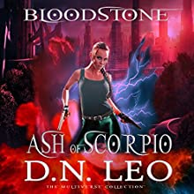 Ash of Scorpio: Prequel of Bloodstone Trilogy Audiobook by D.N. Leo Narrated by Catherine Edwards