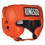 Ringside Competition-Like Boxing Muay Thai MMA Sparring Head Protection Headgear with Cheeks