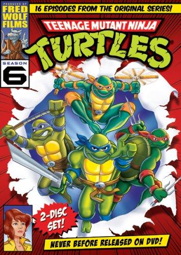 Teenage Mutant Ninja Turtles: Season 6 [DVD] [Import]