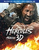 Hercules [Blu-ray 3D + Blu-ray + DVD + Digital Copy]