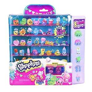 Shopkins season 4 Glitzi collectors case with 8 exclusive shopkins