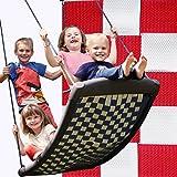 Große Mehrkindschaukel STANDARD weiß/rot für 4 Kinder, 136 x 66 cm (SPR.L.105) - das Original direkt vom Hersteller...
