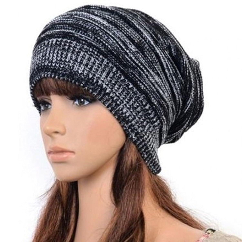 Skull Hat Knitting Pattern Skull Hat Mens Womens Knit