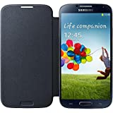 Samsung Galaxy S4 Flip Cover Case - Black