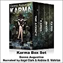 Karma Box Set Audiobook by Donna Augustine Narrated by Angel Clark, Andrew B. Wehrlan