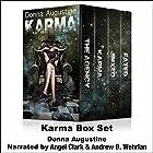 Karma Box Set Hörbuch von Donna Augustine Gesprochen von: Angel Clark, Andrew B. Wehrlan