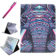 buy Ipad Air 2 Case, Jcmax Protective Cover New Colorful Premium Flip Foilo Style Slim Pu Leather Wallet Case Smart Cover Bulit In Credit Card Slots And Kickstand Feature For Apple Ipad Air 2 (Ipad 6, 6Th Generation Released 2014),Come With One Responsive Sty