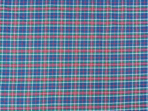 Prestige Stoffe Viskose Tartan Check Kleid macht Tartans Schottischer Kilt Stoff Supplies Patchwork Mantel, Kleid Stoff - Pro Meter Blue/Red