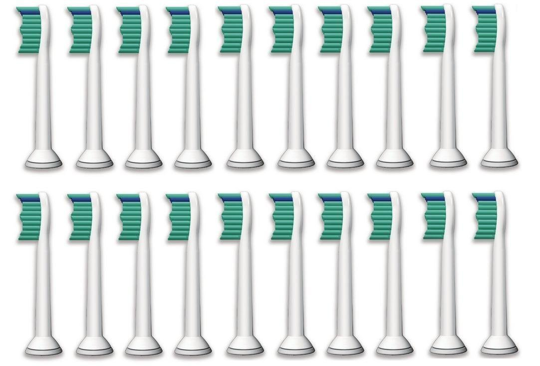 20-Pack Oliver James Toothbrush Heads