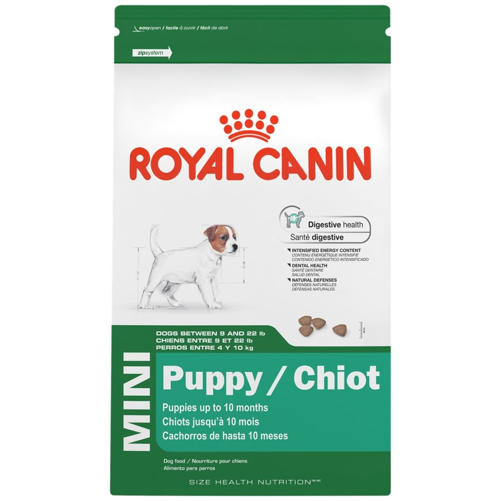 royal canin size health nutrition mini puppy dry dog food. Black Bedroom Furniture Sets. Home Design Ideas