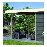 suchergebnis auf f r karibu 19 mm flachdach gartenhaus trundholm. Black Bedroom Furniture Sets. Home Design Ideas