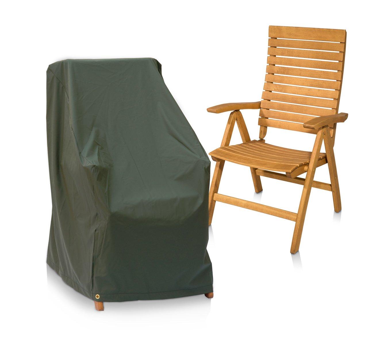 Eigbrecht 146255 Wood Cover Abdeckhaube Schutzhülle für Hochlehner Sessel grün 63x63x100/65cm günstig online kaufen