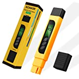 TDS Meter, Sonkir 3-in-1 TDS/EC/Temp Meter, Digital Water Quality Tester for Drinking Water Purity Test, Swimming Pools, Aquariums, Hydroponics, Measu