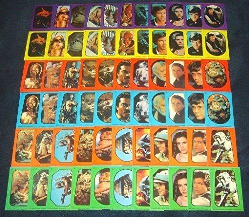 Vintage-Star-Wars-Return-of-Jedi-Sticker-Set-66-Topps-1983-NonSport-Trading-Cards