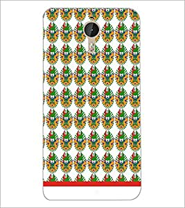 PrintDhaba Pattern D-1542 Back Case Cover for LETV (LE ECO) LE 1 PRO (Multi-Coloured)
