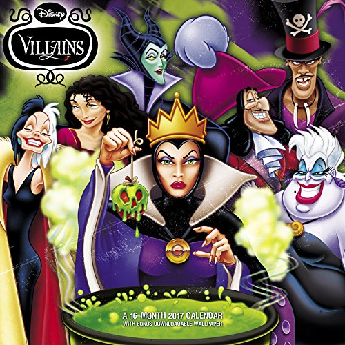 Disney Villains Wall Calendar (2017)