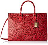 #8: Hidesign Kester Women's Satchel (Red)