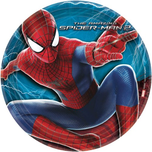The Amazing Spider-Man 2 Dinner Plates
