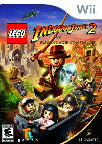 Lego Indiana Jones 2: The Adventure Continues - Nintendo Wii Amazon.com