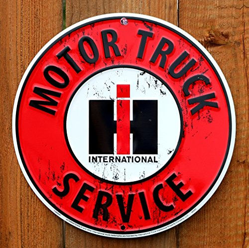 International Harvester Motor Truck Service Sign