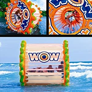 World of Watersports World of Watersports Resort Sports Aqua Treadmill, Orange, Reinforced PVC